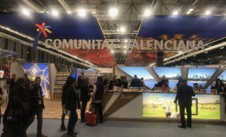 El stand de la Comunitat Valenciana acoge cerca de 2.600 reuniones y presentaciones en tres días