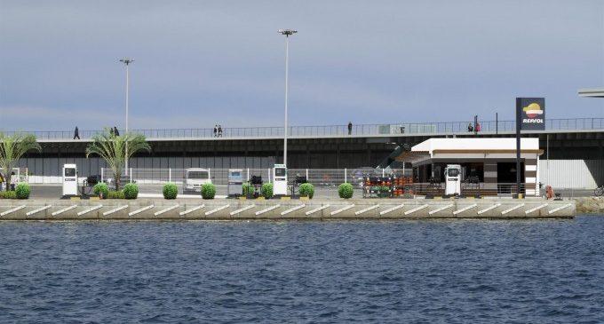 La Marina estrena una gasolinera més sostenible con panells solars i lloguer de bicis