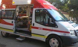 Rescatado con hipotermia un hombre atrapado en su coche por el agua en Vallada