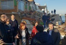 Bonig critica que el Consell no haya invertido en la costa valenciana para reforzarla ante los temporales