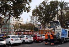 Los servicios de limpieza recogen más de 21.000 toneladas de residuos durante la campaña de Navidad