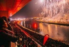 La mascletà vertical de València encendrà les Falles 2020