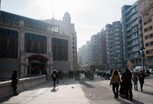 Calles cortadas y alteraciones en la movilidad en el centro de València