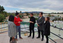 El secretari autonòmic de Diversitat Funcional visita la Fundació SASM per a comprovar els efectes del temporal Gloria