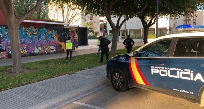 Detinguda una dona per amenaçar de mort a la seua exparella i danyar-li el cotxe en presència dels fills
