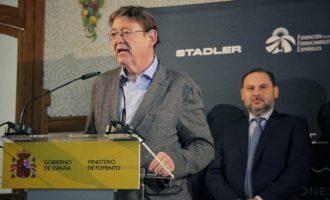 """Puig assegura que Ábalos treballarà pels """"interessos legítims"""" dels valencians en mobilitat i transport"""