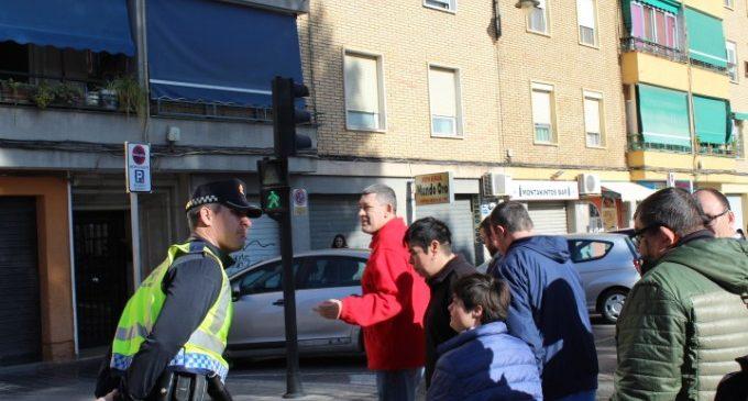 Usuarios del Centro Ocupacional asisten a un curso de seguridad vial en Quart de Poblet