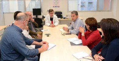 Reunión de coordinación entre Bienestar Social y el Centro de Salud de Paiporta