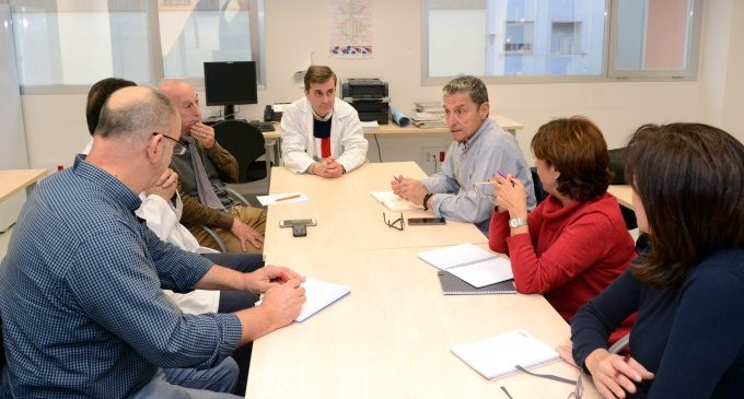 Reunió de coordinació entre Benestar Social i el Centre de Salut de Paiporta