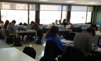Ontinyent estendrà l'ús de la sala d'estudi 24 hores als exàmens de juny després de l'èxit de la iniciativa