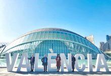 El Ayuntamiento incorpora el nombre de València en uno de los enclaves más fotografiados de la ciudad