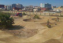El futur Parc de Desembocadura de Natzaret tindrà un circuit 'pumptrack'