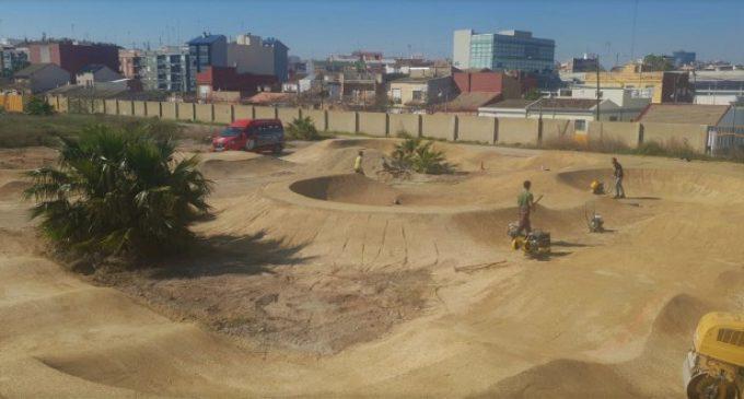 El futuro Parque de Desembocadura de Nazaret tendrá un circuito 'pumptrack'