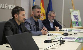 València presenta els gots reutilitzables per a les Falles 2020