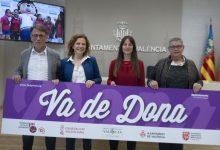 """La calle y el trinquete Pelayo, escenarios del encuentro """"Va de Dona"""" para visibilizar y reivindicar el papel de la mujer en el mundo de la pelota valenciana"""