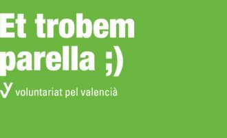 Obert el període d'inscripció del programa 'Voluntariat pel valencià' d'Almussafes