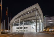 El Palau de Congressos adapta les seues lluminàries per a fomentar l'estalvi energètic
