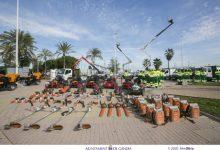 Gandia refuerza los servicios de limpieza y mantenimiento de parques y jardines