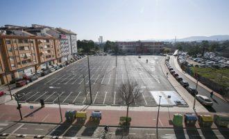 Gandia abre el nuevo parking frente a Gregori Maians