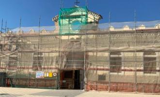 El cementerio de Catarroja recibe reformas interiores mientras finaliza la rehabilitación de su fachada