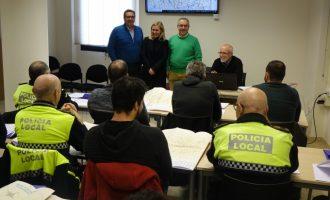 La Policia Local d'Ontinyent participa en accions formatives sobre RCP i accessibilitat al disseminat