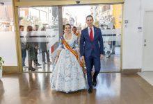 Mislata recibe a la Fallera Mayor de València 2020 y presenta la imagen de las fiestas