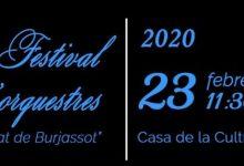 Compte arrere per al I Festival d'Orquestres Ciutat de Burjassot
