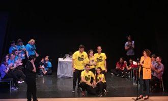 L'Ajuntament de Quart de Poblet lliura els premis de la VII Lliga d'Improvisació de teatre