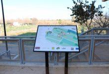 La Ruta de l'Aigua de Quart de Poblet compta ja amb panells informatius accesibles