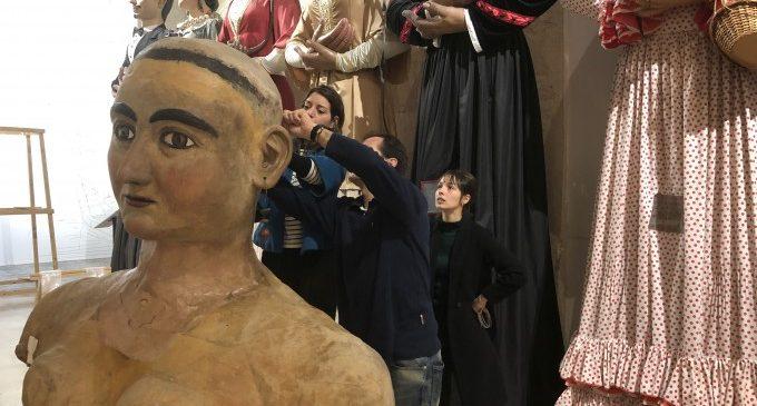 El gegant la Turca torna al Museu del Corpus de Xàtiva