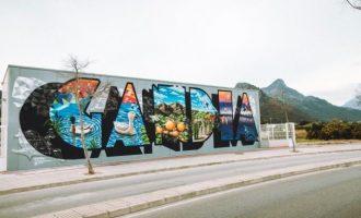Gandía homenajea el graffiti con el Serpis Urban Art project