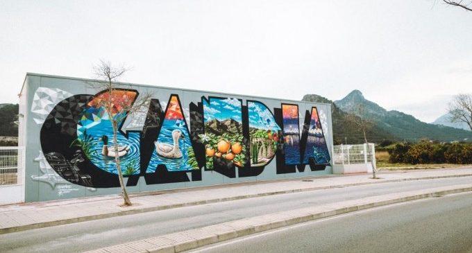 Gandia homenatja el grafiti amb el Serpis Urban Art project