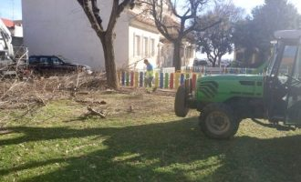 Almussafes aprofundeix en neteja i manteniment d'espais públics