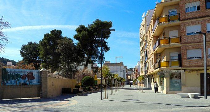 Finalitzen les obres de reurbanització de l'avinguda dels Furs a Llíria