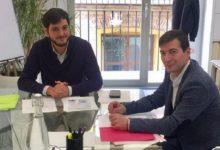 Rafa García es reuneix amb el director general de l'EVha per a analitzar les necessitats d'habitatge en el municipi
