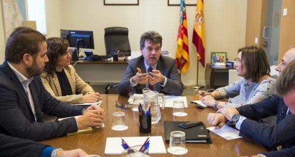 Diputació de València acorda noves línies de l'administració electrònica amb la Direcció General de Tecnologies de la Informació i les Comunicacions
