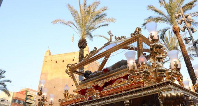 La hermandad Santo Sepulcro restaura su paso para celebrar su 90 aniversario