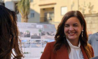 """Sandra Gómez creu una """"magnífica notícia"""" reduir les afeccions del port: """"Es pot treballar amb sostenibilitat"""""""
