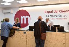Los Espais y Centros de Atención al Cliente de Metrovalencia atendieron más de 310.000 visitas en 2019