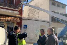 EL canvi de lluminàries de Burjassot comença la tercera fase amb més de 350 nous fanals