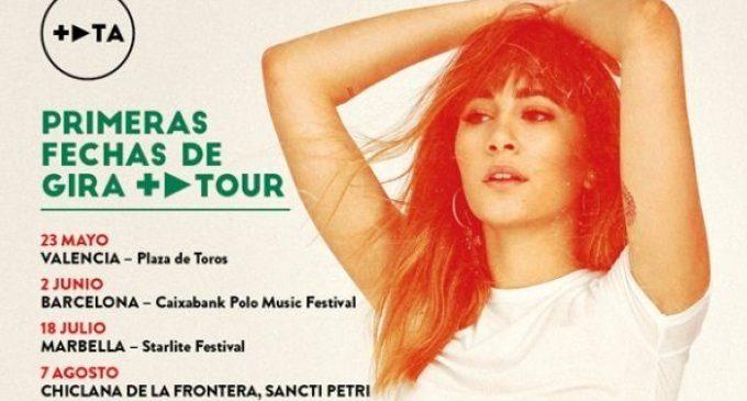 Aitana reprén la seua gira en 2020 amb el primer concert a València