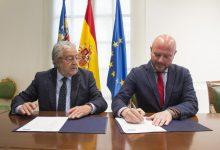 La Diputació colaborará con la Fundación Bancaja en actividades de promoción social y cultural