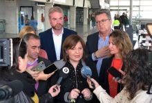 Bonig pide que se invierta en Cercanías de la Comunitat igual que en Cataluña y acusa a Puig de estar huido en Marruecos