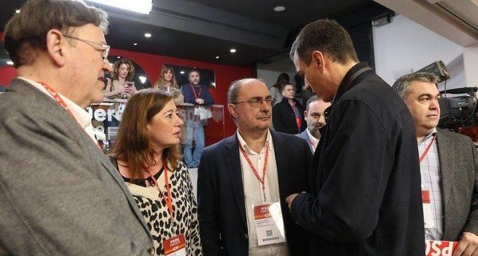 Els líders autonòmics del PSOE saluden la taula de diàleg en el camp i apunten a solucions per part de la UE