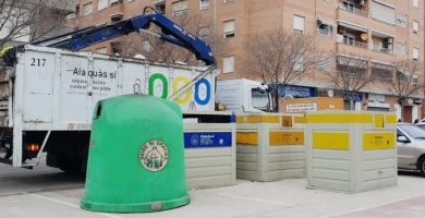 Alaquàs millora les seues xifres de reciclatge d'envasos i paper