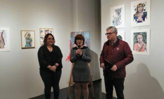 El 'Diari de viatge' de la pintora ElenaMuelass'exposa a Almussafes