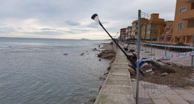 El Govern destina 9,6 milions a reparar els danys en la costa de la Comunitat provocats per 'Gloria'