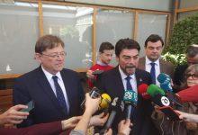 """Puig subraya la """"valía"""" del nuevo presidente de Puertos del Estado y dice que es una """"alegría"""" que sea valenciano"""