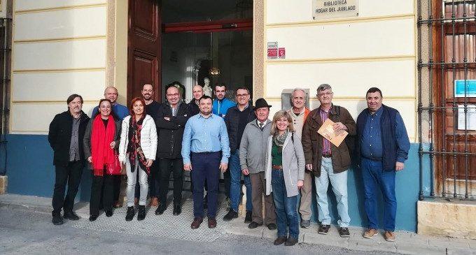 El diputat de Cultura, Xavier Rius, participa en el Consell Municipal de Macastre