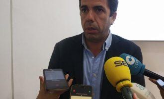 """Mazón afirma que la reunió pel Corredor Mediterrani a Tarragona és una """"estratègia dels Països Catalans"""""""